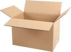 caixa de papelão