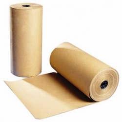 papel kraft em bobinas