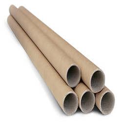 tubo de papelão