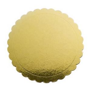 Bandeja de papelao para bolo redondo