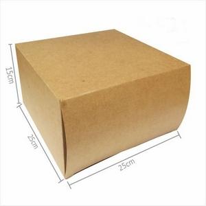 Caixa para transportar bolo alto