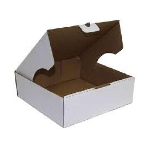 Caixa branca esfiha