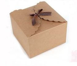 caixa de papel kraft