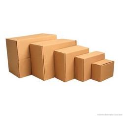 Caixas de papelão grande