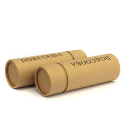 embalagem tubo kraft para perfumes