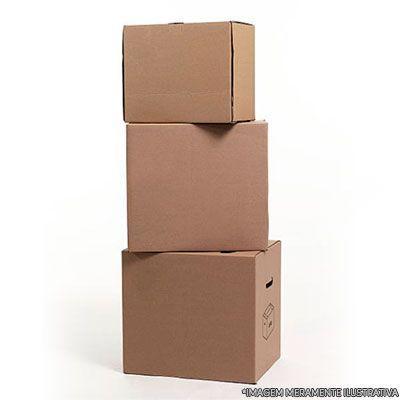 Caixa de papelão para cesta básica