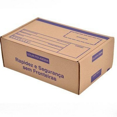 Caixa de papelão sob encomenda