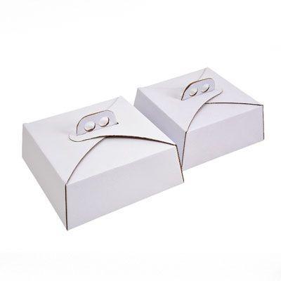 Caixa de papelão tipo maleta